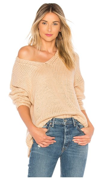 Tularosa kate sweater in tan