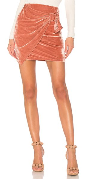 "Tularosa Katie Skirt in pink - ""Sexy, sleek, and chic, the Katie Skirt by Tularosa is..."