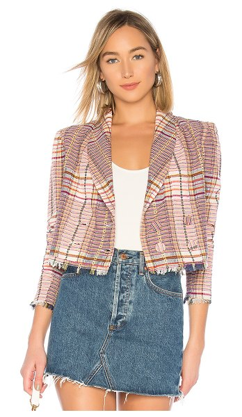 Tularosa Kendra Jacket in cream - Business casual meets vintage charm on the Kendra Jacket...