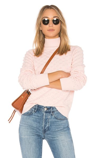 Tularosa Laviana Sweater in pink - Cozy to the core. Nothing beats the snug fit of...
