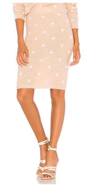 """Tularosa Michelle Skirt in blush - """"A spot on favorite when it comes to chic winter-wear...."""