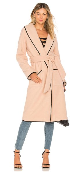 Tularosa Nadia Coat in blush - A topper we can?t wait to layer. Give in to the...