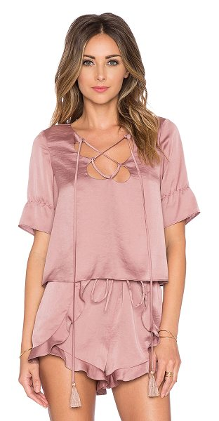Tularosa Phoebe top in rose