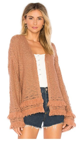 Tularosa Rumi Sweater in tan - Throw on the Tularosa Rumi Sweater to add a dash of...
