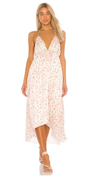 Tularosa seraphine dress in spring pink floral