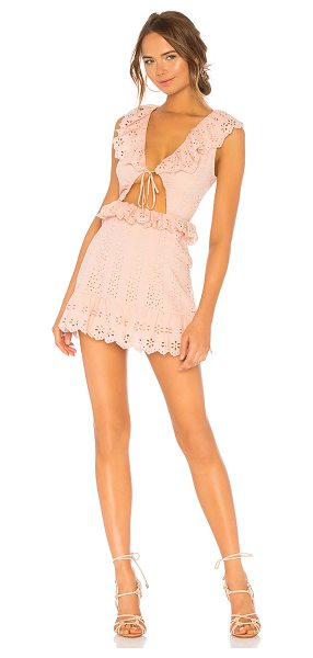 Tularosa tanya dress in rose pink