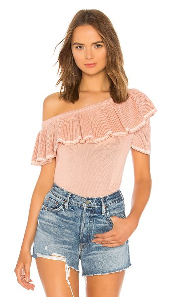 Tularosa whitney sweater in blush pink