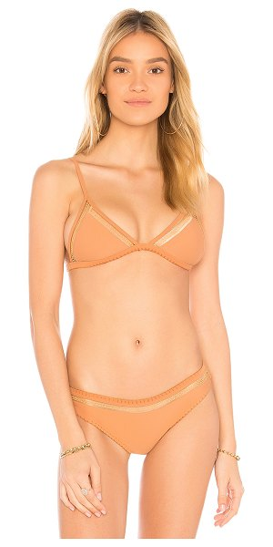 Tularosa Willa Top in nude - Sun's out - time to play and put it on display. Stretch...