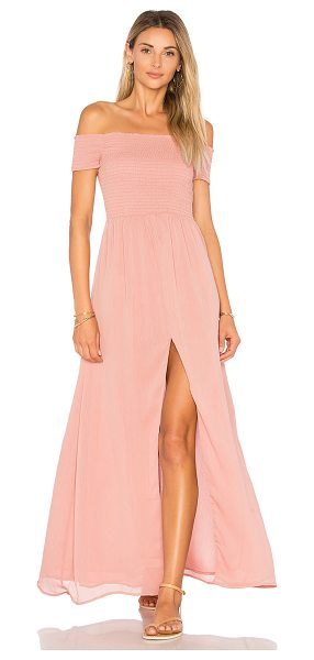 Tularosa x REVOLVE Henderson Maxi in peach puree - Peace, love and rock 'n' roll - the Henderson Maxi by...