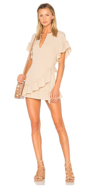 Tularosa Jenny Dress in nude - Step into neutral territory with this nude toned mini...
