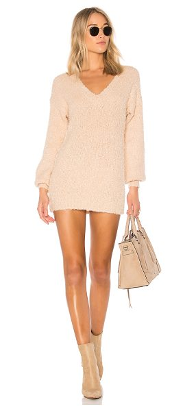 Tularosa Marla Dress in blush - Sweet and subdued but peppered with a little attitude....