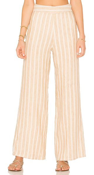 "Tularosa Marley Pants in neutral - ""Feel the rhythm and blues of the Marley Pants by..."