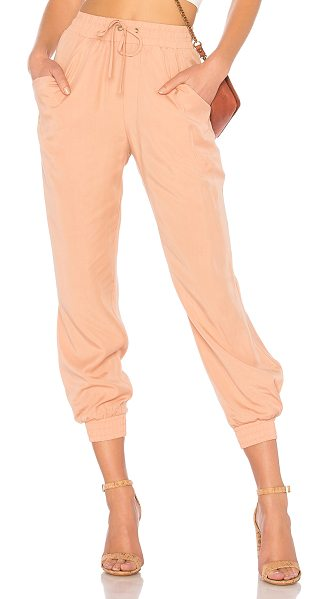 "Tularosa x REVOLVE Tibby Joggers in rose - ""Off-duty done right. Tularosa x REVOLVE?s Tibby Joggers..."
