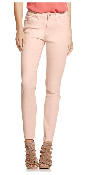 Two by Vince Camuto colored stretch skinny jeans in pink balm - Cut from comfortable stretch denim, staple skinny jeans...