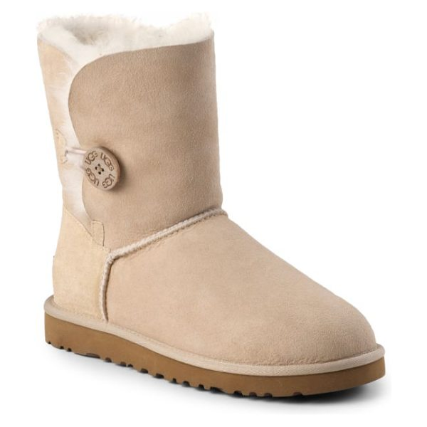 UGG Bailey button shearling short boots - A perfect cold-weather essential: leave the shearling...