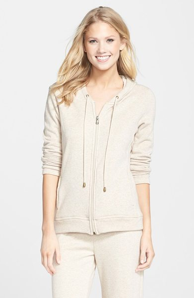 Ugg sarasee hoodie in oatmeal heather - High-pile plush lines a buttery-soft stretch...
