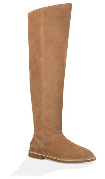 Ugg ugg loma over the knee boot in brown - A foam-cushioned insole cradles your foot in this supple...