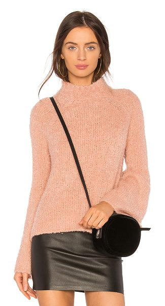 Ulla Johnson Amina Turtleneck Knit in pink - A rose hue marks Ulla Johnson's Amina Turtleneck as a...
