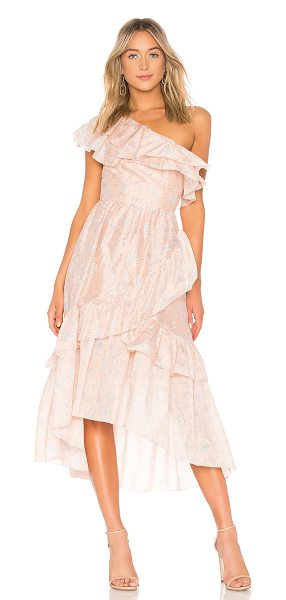 Ulla Johnson Clemente Dress in roses - Self: 79% cotton 21% silkLining: 100% cotton. Dry clean...