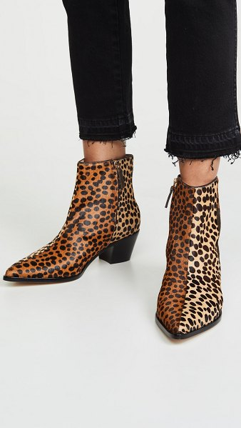 Ulla Johnson lola ankle boots in leopard