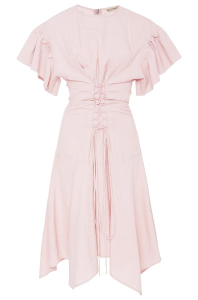 Ulla Johnson Otille Suiting Dress in pink - This *Ulla Johnson* Otille Suiting Dress features a...