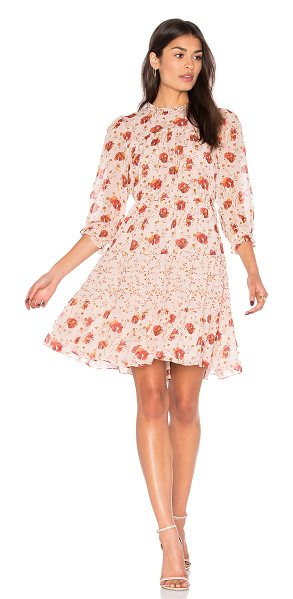 Ulla Johnson Skye Dress in blush - Usher in fall with the unexpected: pastel pink. Adorn...