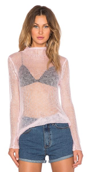 UNIF Haze sweater in pink