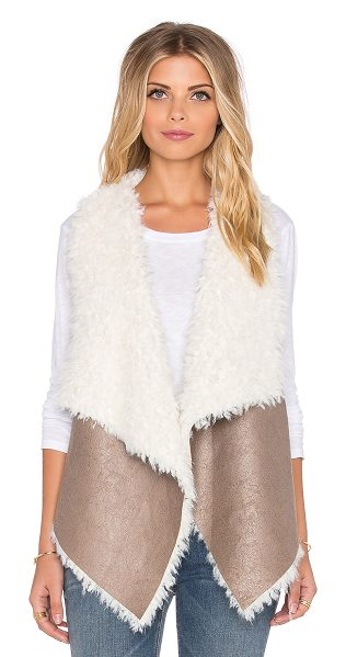 UNREAL FUR Duet reversible vest - Self: 100% polyLining: 100% modacrylic. Dry clean only....