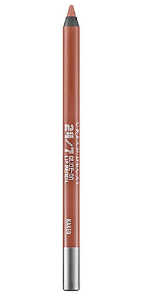 Urban Decay 24/7 Glide-On Lip Pencil Naked - A creamy, 24-hour wear lip pencil that lines and primes...