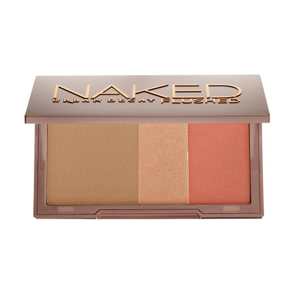 Urban Decay Naked Flushed Palette Streak - A silky bronzer, highlighter, and blush in a sleek,...