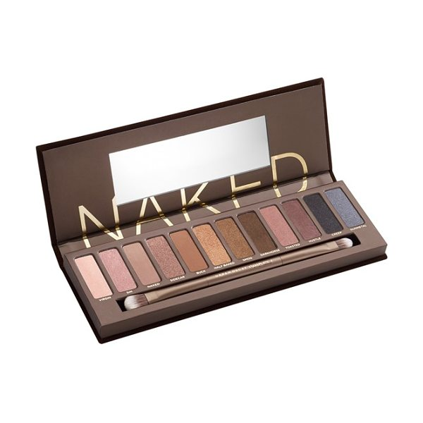 Urban Decay naked palette in naked palette - Loaded with 12 bronze-hued eyeshadows in an insane range...