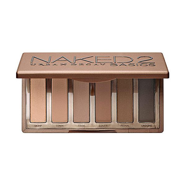 URBAN DECAY Naked2 Basics Eyeshadow Palette Naked Basics 2 - A versatile, matte eyeshadow palette with six shades in...