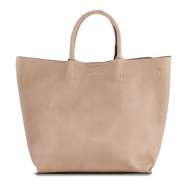 Urban Originals Butterfly Faux-Leather Tote Bag in nude - Urban Originals vegan leather (polyurethane) tote bag....