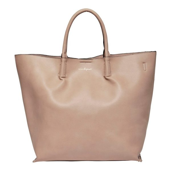 URBAN ORIGINALS butterfly vegan leather tote - A clean, uncomplicated design elevates the look of a...