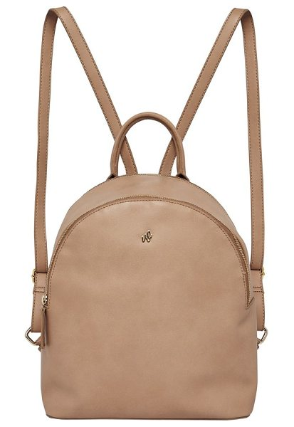 Urban Originals magic vegan leather backpack in camel - A clean and curvy silhouette defines a versatile...