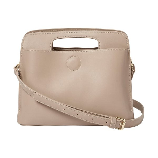 Urban Originals share the love vegan leather crossbody bag in beige