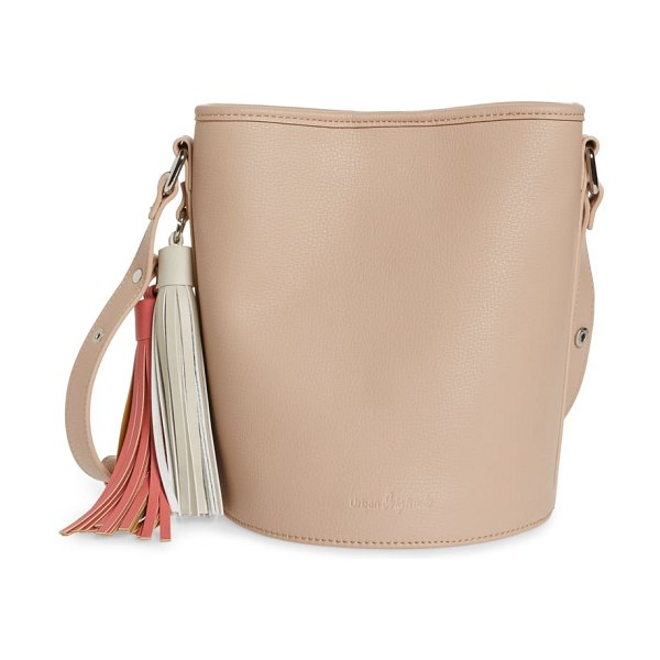 Urban Originals two lovers vegan leather bucket bag in pink - Contrasting tassels up the trend factor of a...