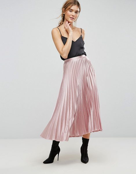 UTTAM BOUTIQUE Pleated Skirt - Skirt by Uttam Boutique, Maxi skirt, Swish swish,...