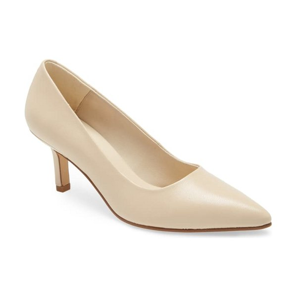 VAGABOND SHOEMAKERS pauline pointed toe pump in beige