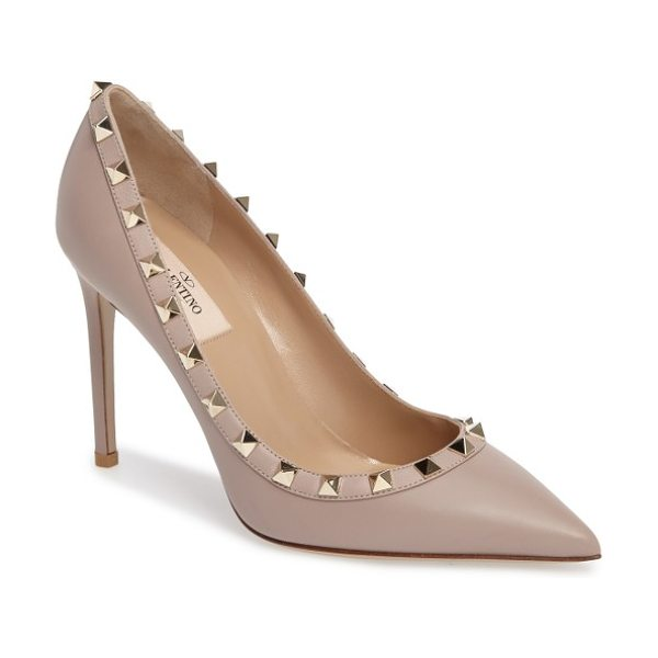 VALENTINO rockstud pointed pump - Valentino's now legendary rockstuds encircle the topline...