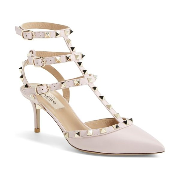 VALENTINO rockstud t-strap pump - Elegance meets edge: The iconic Rockstud pump gets...