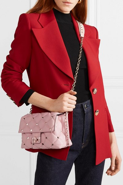 f816a34498 Valentino Valentino Garavani Candystud Medium Quilted Leather ...