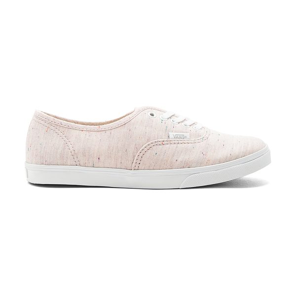 Vans Authentic Lo Pro Sneaker in pink - Textile upper with rubber sole. Lace-up front. Vans...