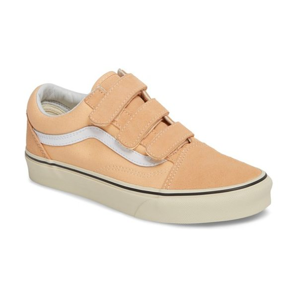 VANS old skool v pro sneaker - Vans updates its iconic canvas sneaker with suede accents...