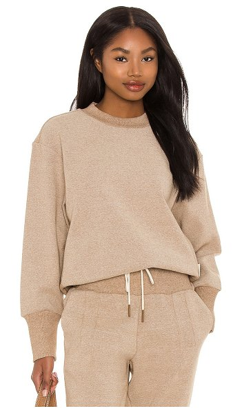 Varley edith sweatshirt in biscuit