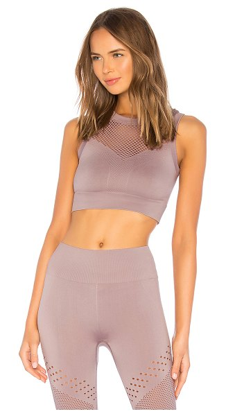 Varley Langley Sports Bra in mauve