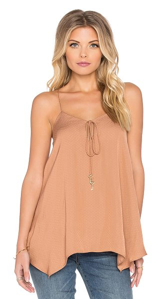 VAVA by Joy Han Daria cami in tan - 100% poly. Dry clean only. VABY-WS141. VT1013. Styles...