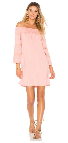 "VAVA by Joy Han Luana Dress in coral - ""95% viscose 5% spandex. Dry clean only. Unlined...."