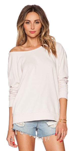 Velvet by Graham & Spencer Active jess top in pink - 100% cotton. Elbow patch detail. Intentionally...