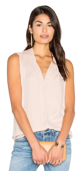 Velvet by Graham & Spencer Leslia Tank in blush - Rayon blend. Hand wash cold. VELVET-WS2956. LESLIA03....